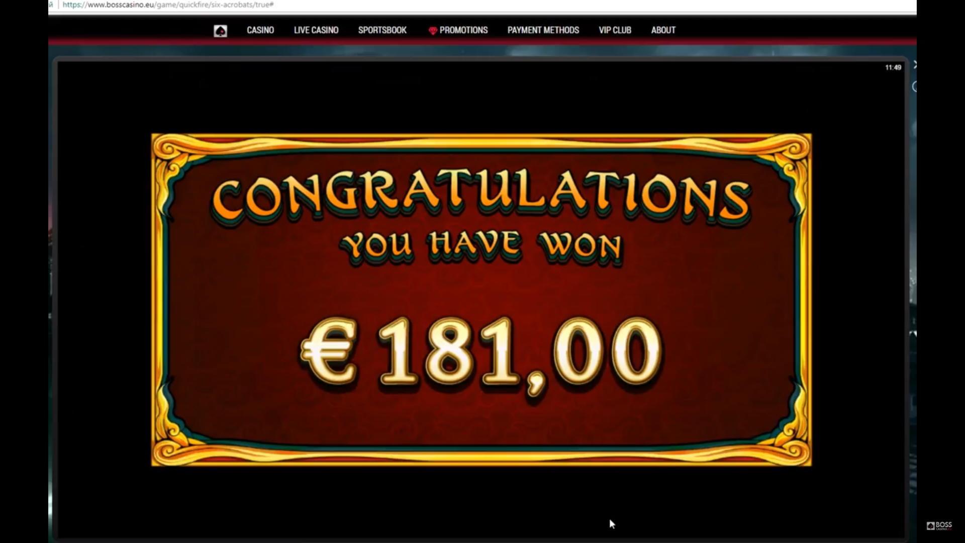 120% Match på et casino på Rizk Casino