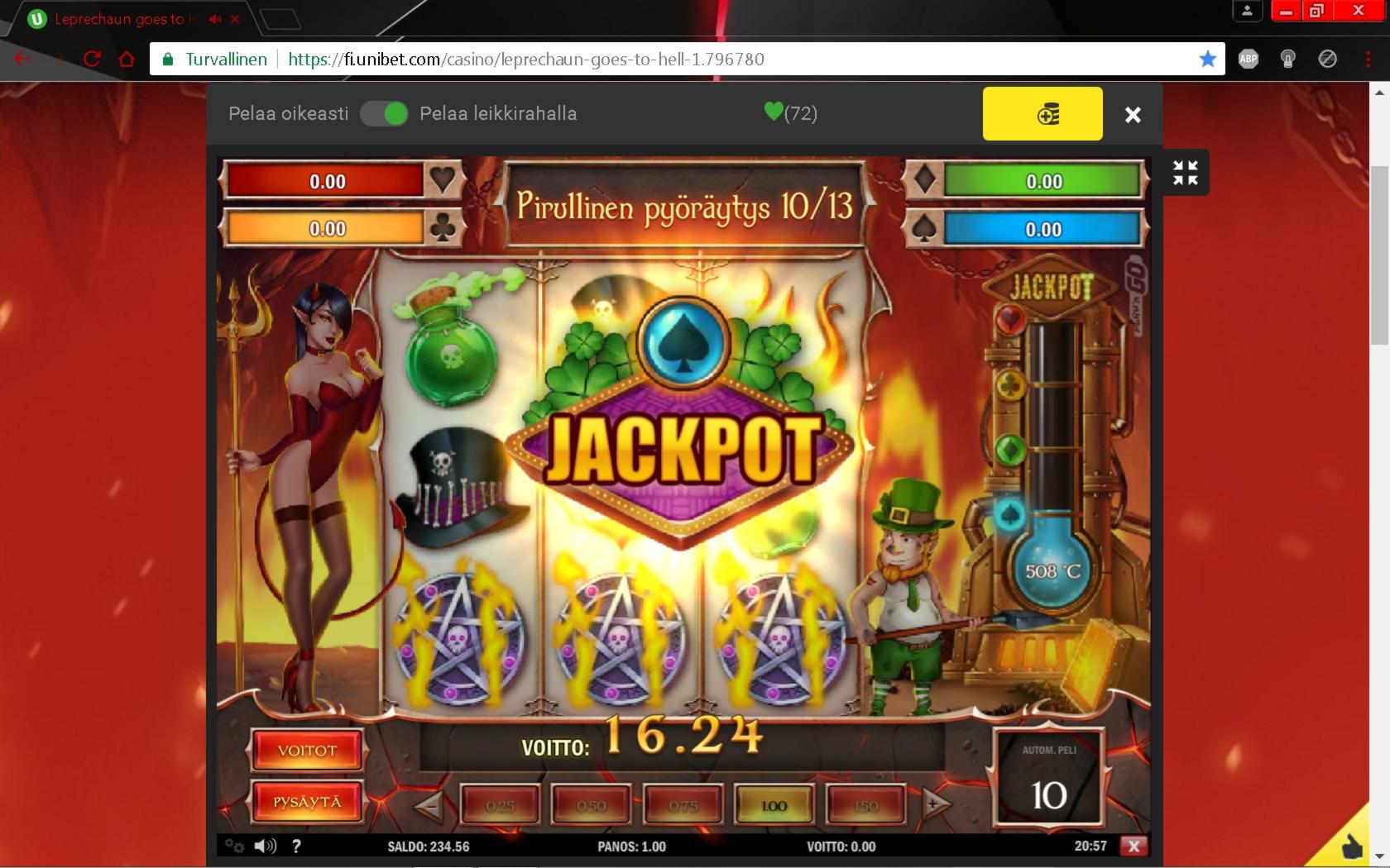 860% Casino match bonus på William Hill Casino