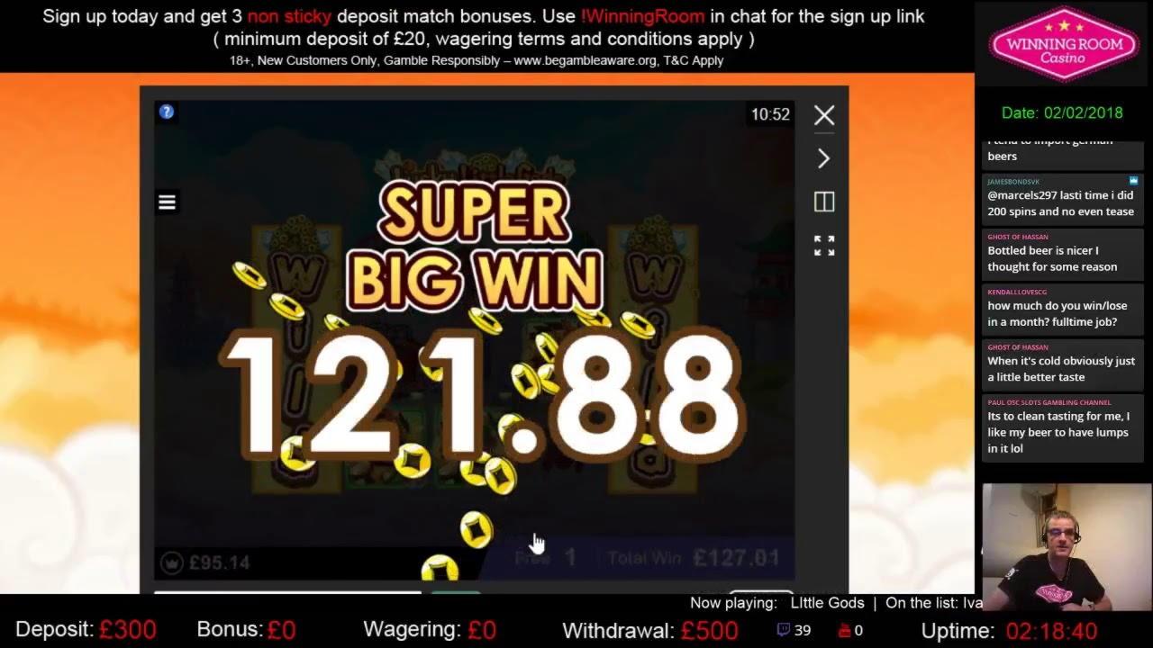 95% Tilmelding Casino Bonus på William Hill Casino