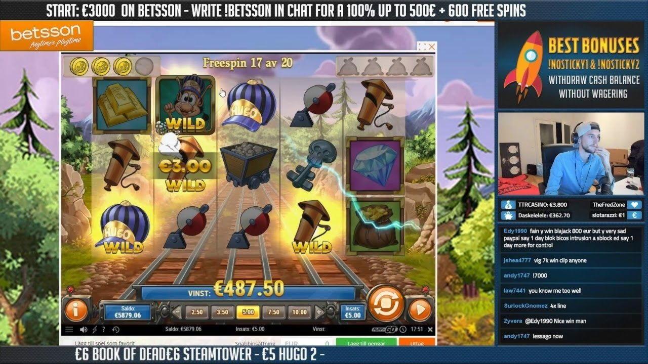 120% First Deposit Bonus på Energy Casino